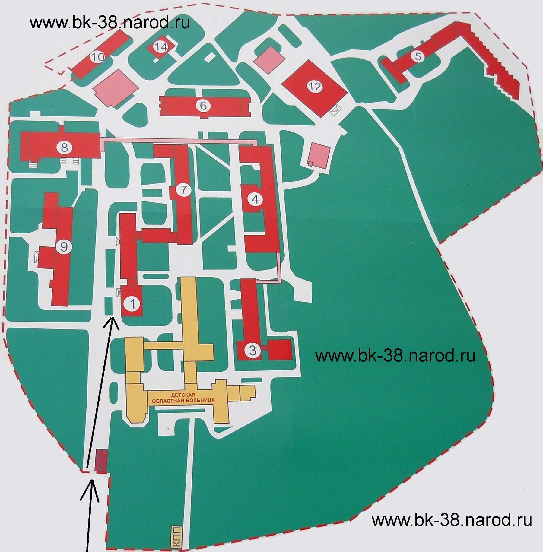 Схема больницы ржд на яузе